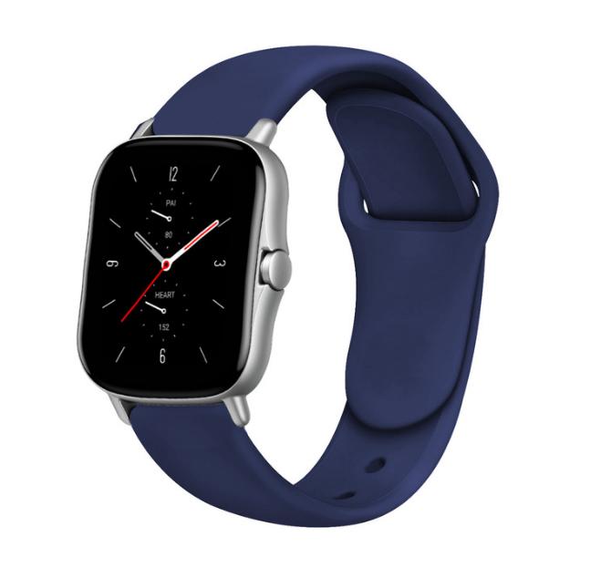 Сменный ремешок для Умных часов  Amazfit Bip Smartwatch (Темно-синий)