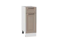 Шкаф нижний с 1-ой дверцей и ящиком Ницца Royal Н301 в цвете Omnia
