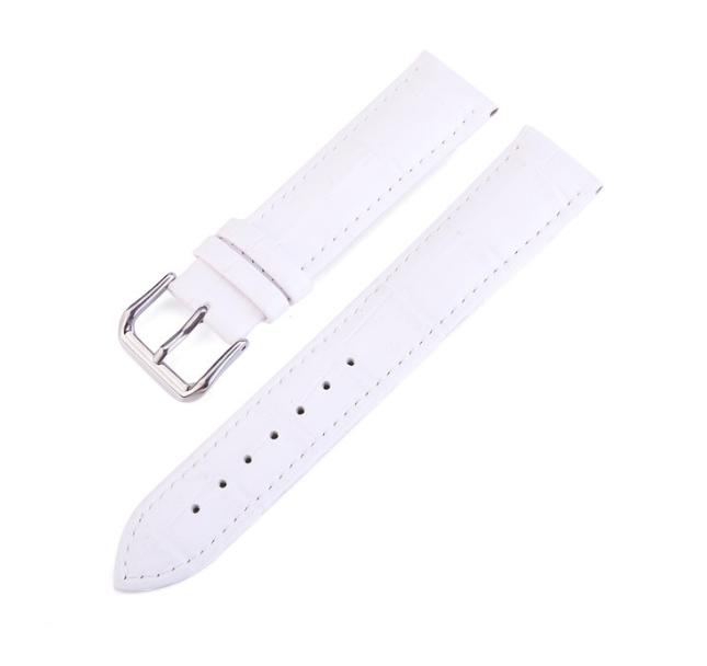 Сменный кожаный ремешок для Умных часов Amazfit Bip Smartwatch ( Белый )