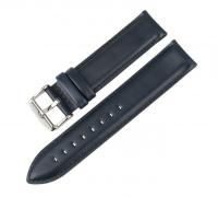 Сменный кожаный ремешок для Умных часов Amazfit Bip Smartwatch ( Темно-синий )