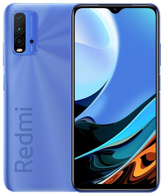 Смартфон Xiaomi RedMi 9T 4/64Gb Twillight Blue