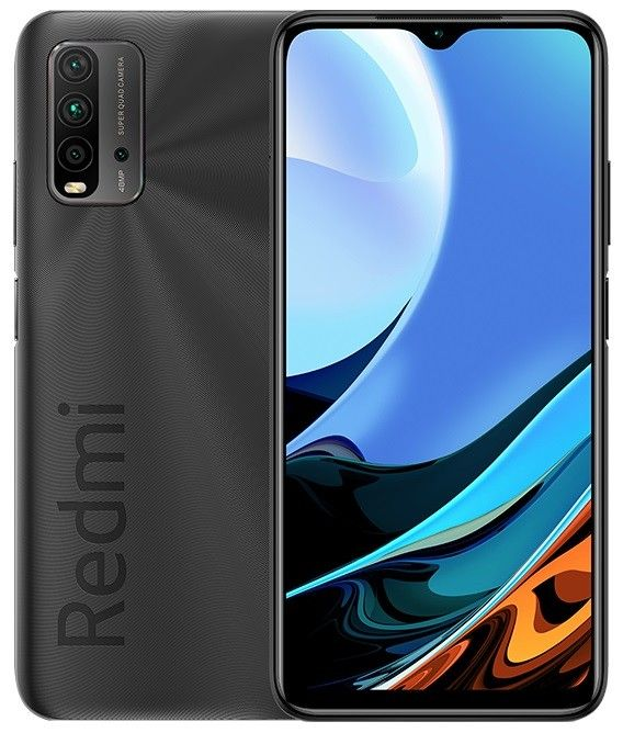 Смартфон Xiaomi RedMi 9T 4/64Gb Carbon Grey