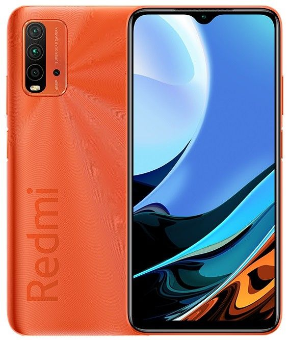 Смартфон Xiaomi RedMi 9T 4/128Gb Sunset Orange
