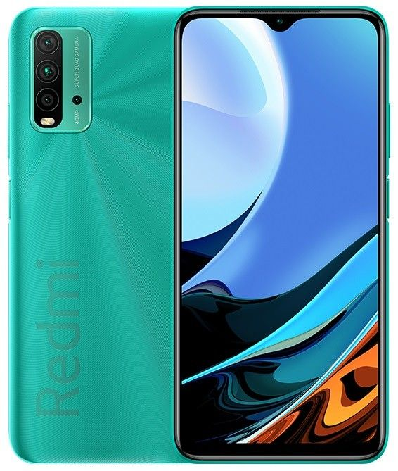 Смартфон Xiaomi RedMi 9T 4/128Gb Ocean Green