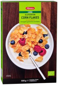 Завтраки сухие PIRKKA Хлопья кукурузные, 500г