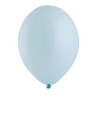 """Шар латексный 14+"""", пастель,  цвет нежно-голубой"""