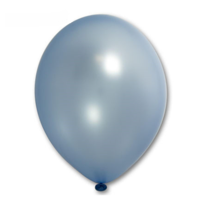 "Шар латексный 14+"", металлик Light Blue, светло-голубой"