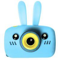 Детский цифровой фотоаппарат Fun Camera View Зайчик, голубой
