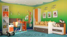 Детская Скейт-5 манго