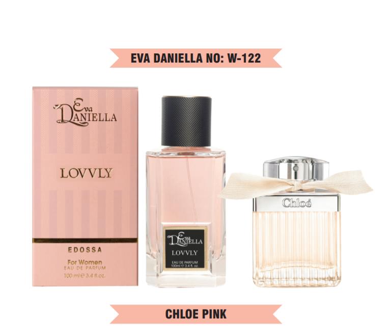 Eva Daniella № W-122-Chloe Pink 100 мл