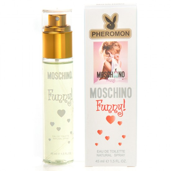 "Мини-парфюм с феромонами ""Moschinсо"" Funny eau de toilette (45 мл)"
