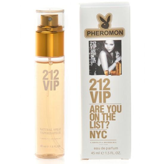 """Мини-парфюм с феромонами """"Carolina Herrera"""" 212 VIP eau de parfum (45 мл)"""