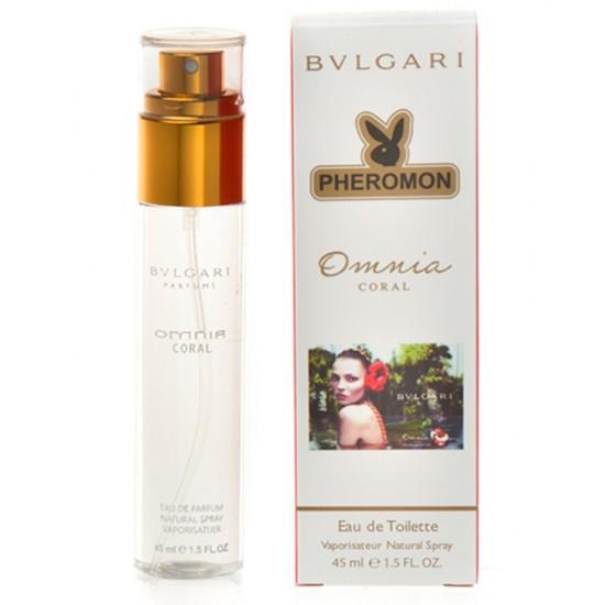 "Мини-парфюм с феромонами ""Bvlgari"" Omnia Coral (45 мл)"