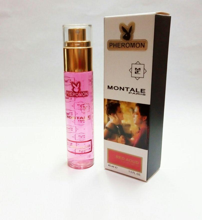 Мини-парфюм с феромонами Montale Red Aoud 45ml