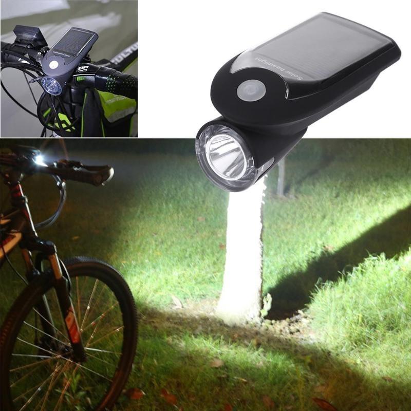 Велосипедный фонарь с солнечной батареей Solar Usb Bicycle Light