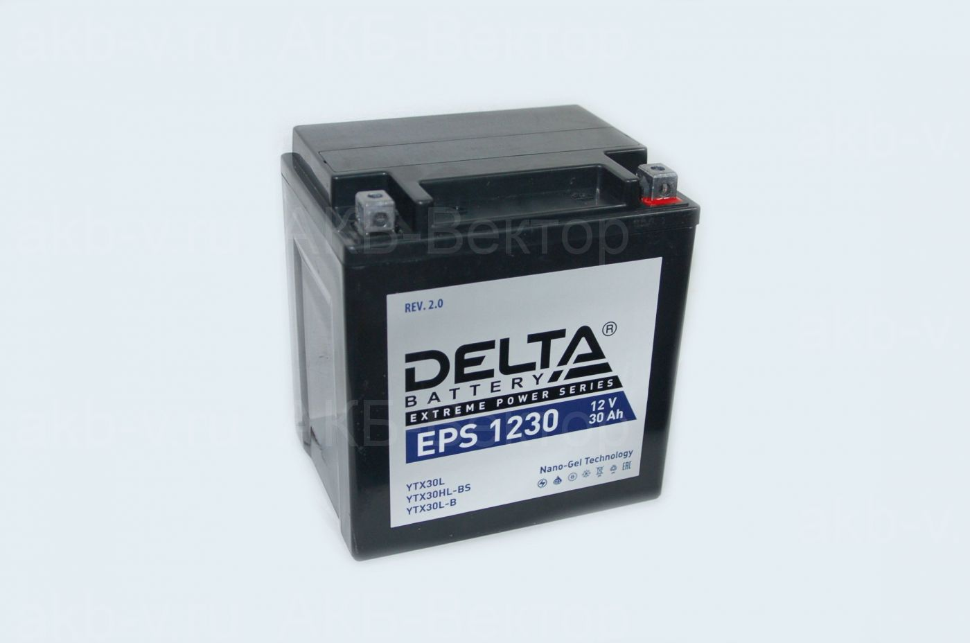 Delta EPS 1230 (30Ач 400А) YTX30L-BS