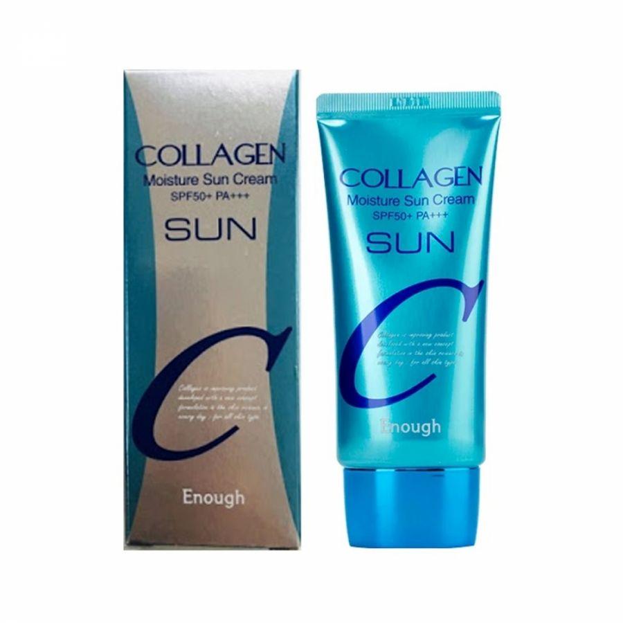 Крем солнцезащитный spf50+/pa+++ Enough Collagen Sun Cream Spf50+/pa+++, 50 мл