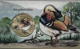 Утка мандаринка  1 доллар Остров Сан-Феликс 2021