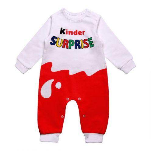 Комбинезон без лапок Kinder Surprise A-KB111(2)-IT, интерлок