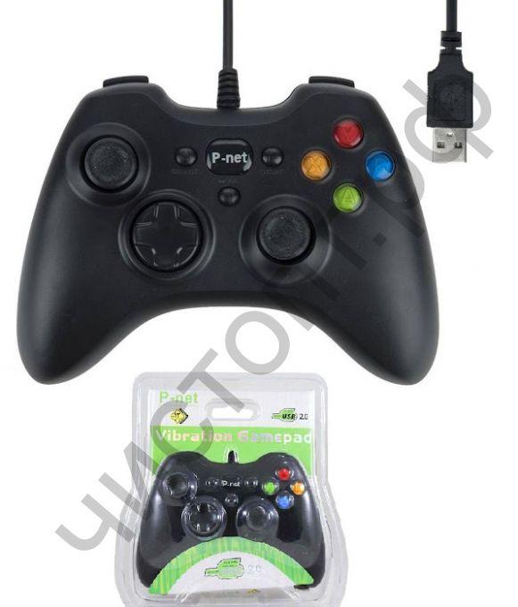 Геймпад USB OT-PCG08 2 стика 12 кноп