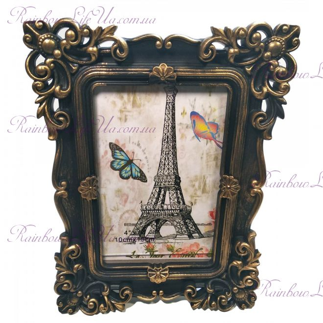 "Фоторамка на 1 фото 15 см х 10 см ""Париж"""