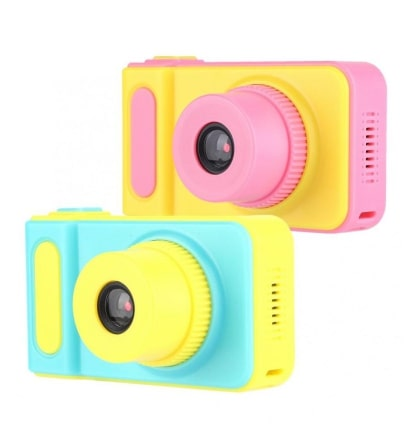 Детский цифровой фотоаппарат Kids Camera - настоящий фотоаппарат для детей, отлично подойдет для подарка ребенку.