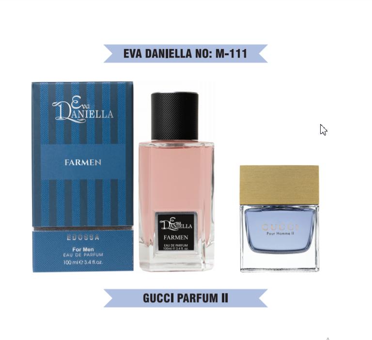 Eva Daniella № M-111-Gucci Pour Homme 2 100 мл