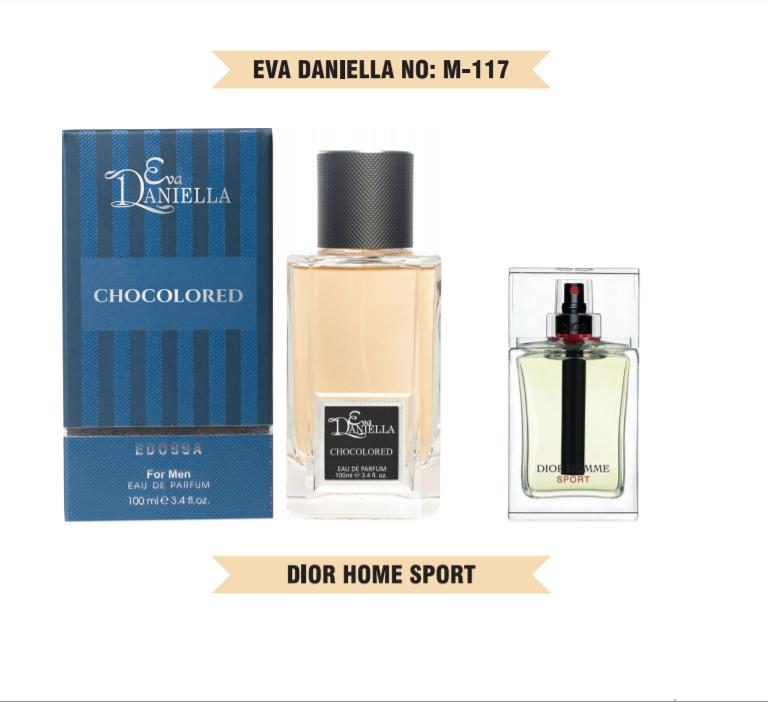 Eva Daniella № M-117-Dior Homme Sport 100 мл