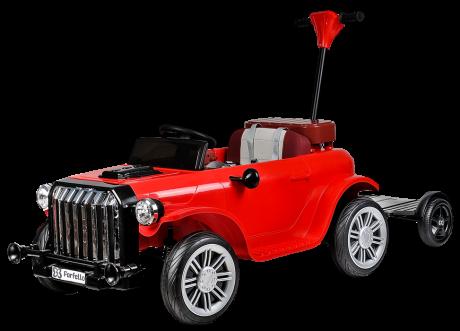 Детский электромобиль (2021) DLS202 (12V) красный