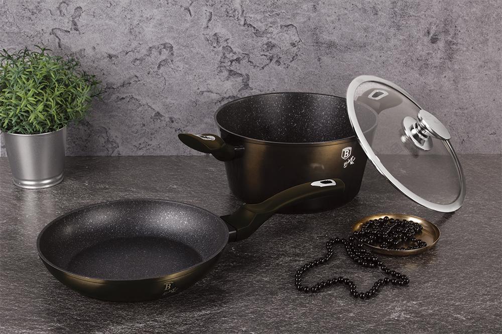 Набор посуды 3 пр. Berlinger Haus ВН-6616  Cristal Collection