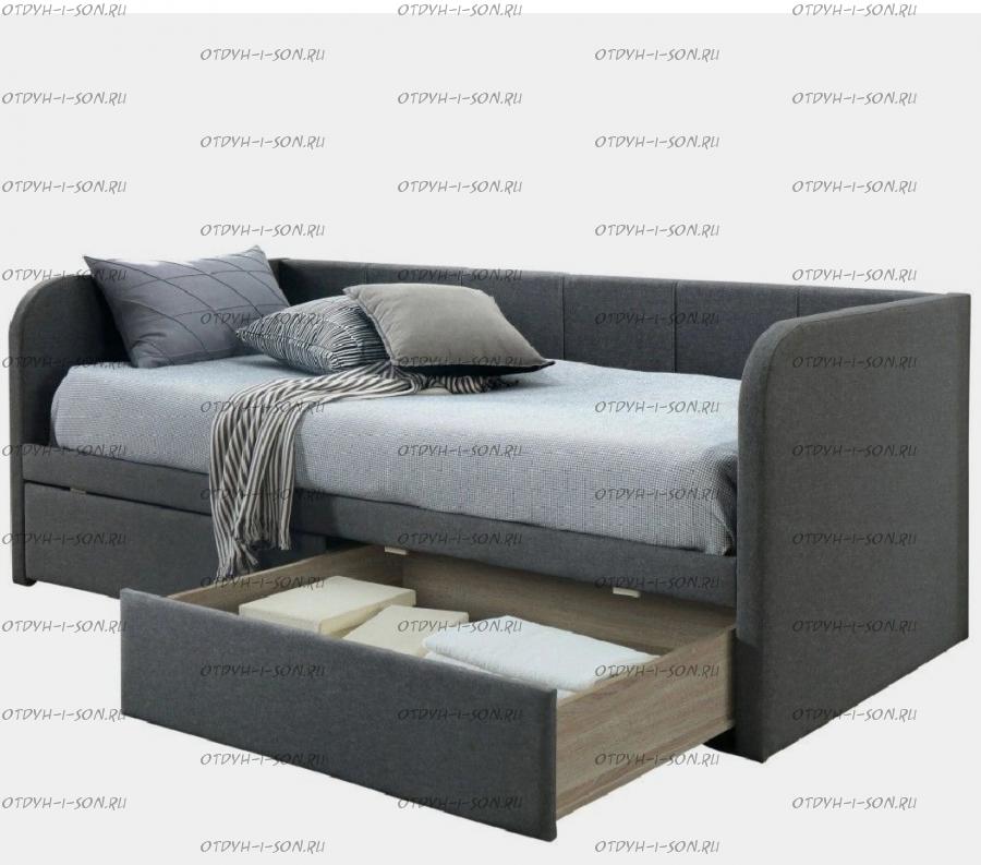 Кровать Элиза-10 с выкатными ящиками, любые размеры