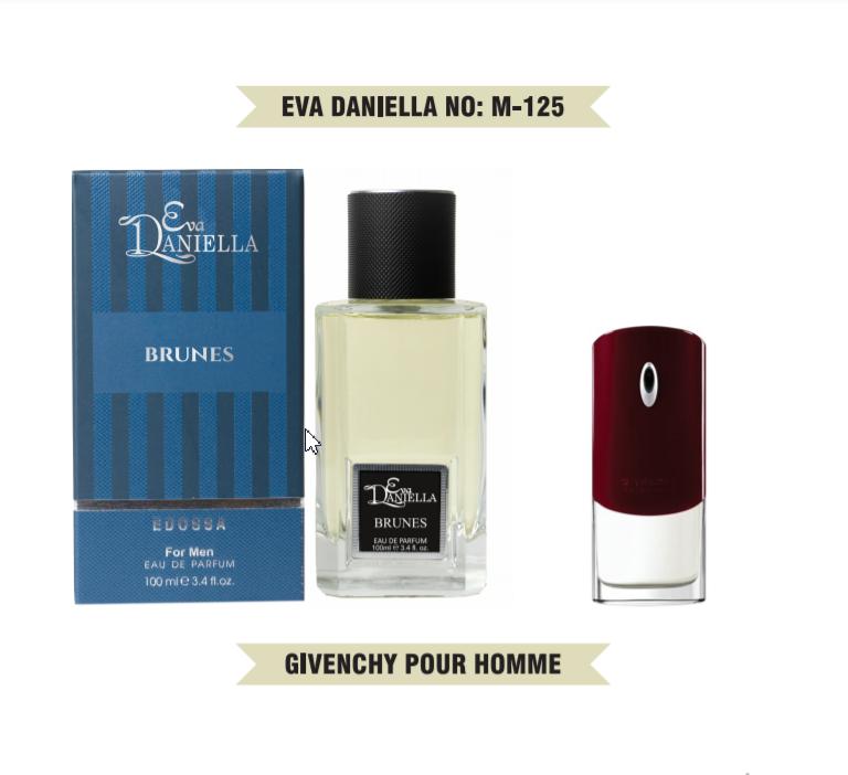 Eva Daniella № M-125-Givenchy Pour Homme 100 мл