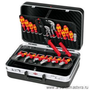 Чемодан с набором инструментов, 20 предметов KNIPEX 00 21 20