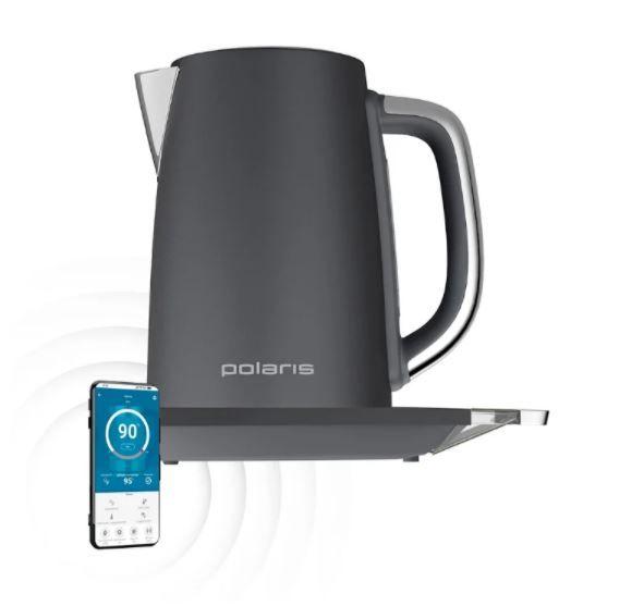 Чайник Polaris PWK 1755CAD WIFI IQ Home, серый