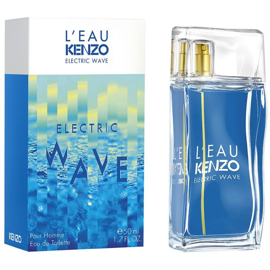 Туалетная вода Kenzo L`eau par Kenzo Electric Wave pour Homme 100 мл