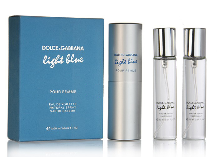 Dolce & Gabbana Light Blue 3x20 ml