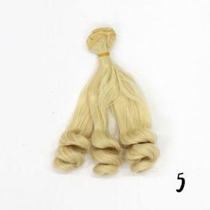 Трессы для создания причеcки куклам - 20 СМ