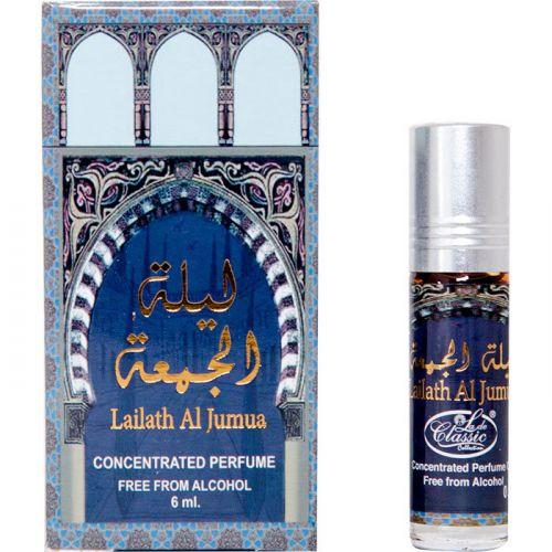 Арабские масляные духи Lailath Al Jumua | Лейла Аль-Джумуа | 6 мл | Al-Rehab | Женский