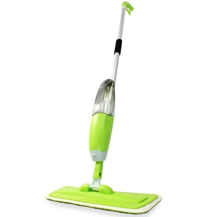 Швабра со встроенным распылителем воды Healthy Spray Mop - умная швабра для мытья пола научит наслаждаться уборкой и экономить время!