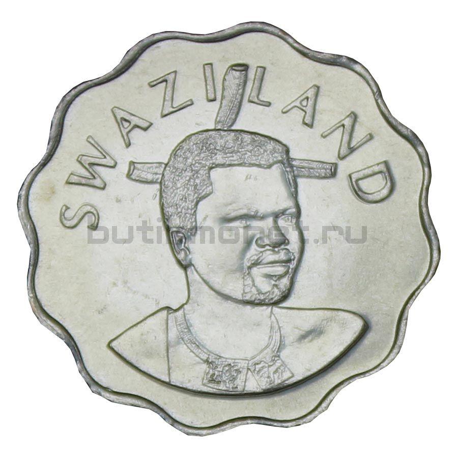 5 центов 1999 Свазиленд