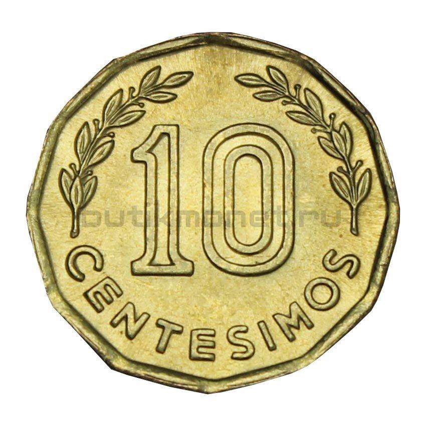 10 сентесимо 1981 Уругвай
