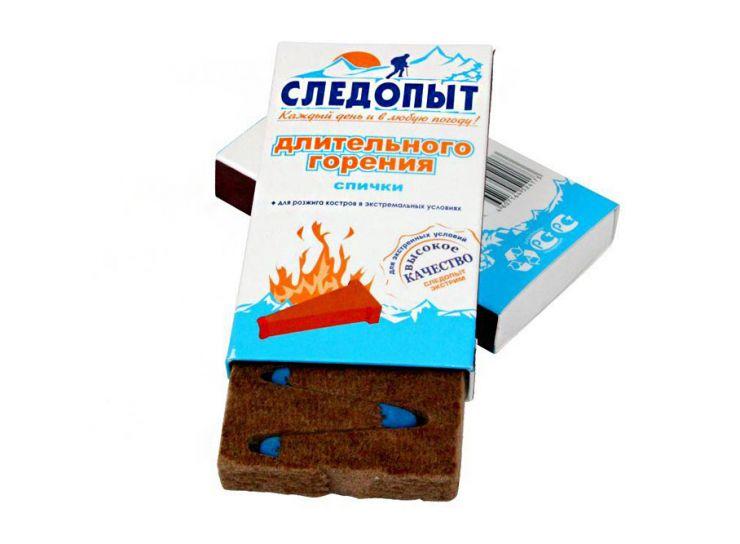 """Спички охотничьи """"СЛЕДОПЫТ"""" 10 шт PF-HTA-M01"""