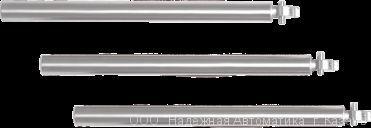 Автоматические преграждающие планки «Антипаника» из анодированного алюминия «PPA-07X»