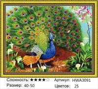 Алмазная мозаика на подрамнике HWA3091