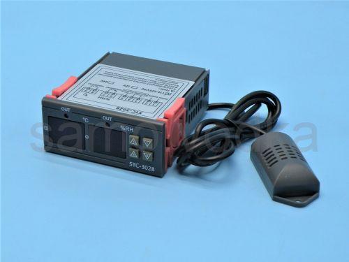 Контроллер температуры и влажности STC-3028 220V