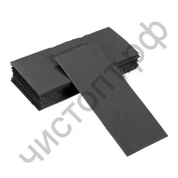 Набор термоусадки PVC 18650-Black/10 BL1  Нарезанная под аккумулятор 18650 пакетик 10 шт