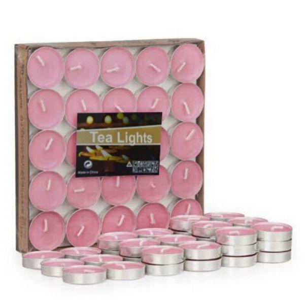 Комплект чайных свечей, 100 шт