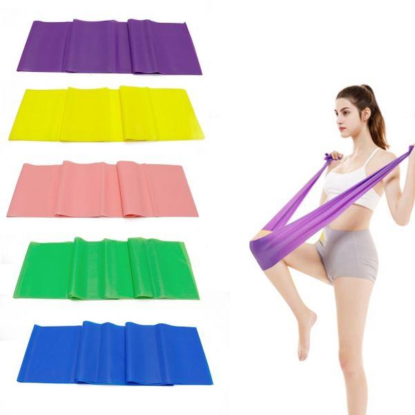 Лента для йоги и пилатеса, 150х15 см