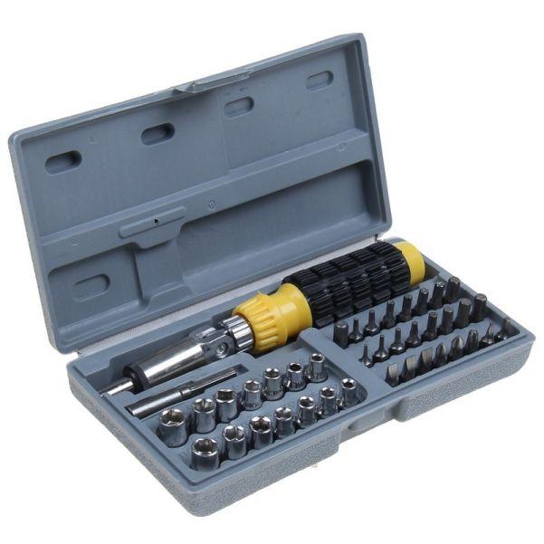 Набор инструментов Piece Bit and Socoket Set, 41 деталь