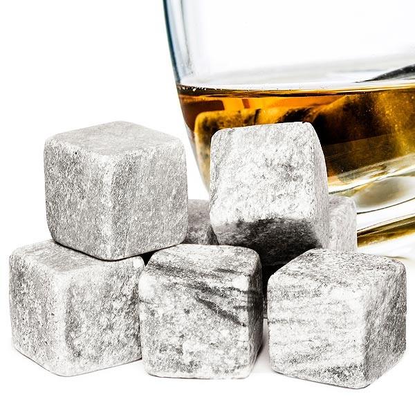 Набор камней для виски WHISKEY STONES, 9 шт
